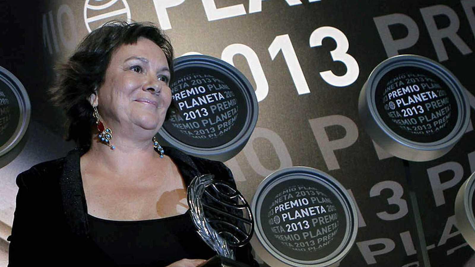 Clara Sánchez, ganadora del premio Planeta 2013 por su novela 'El cielo ha vuelto'