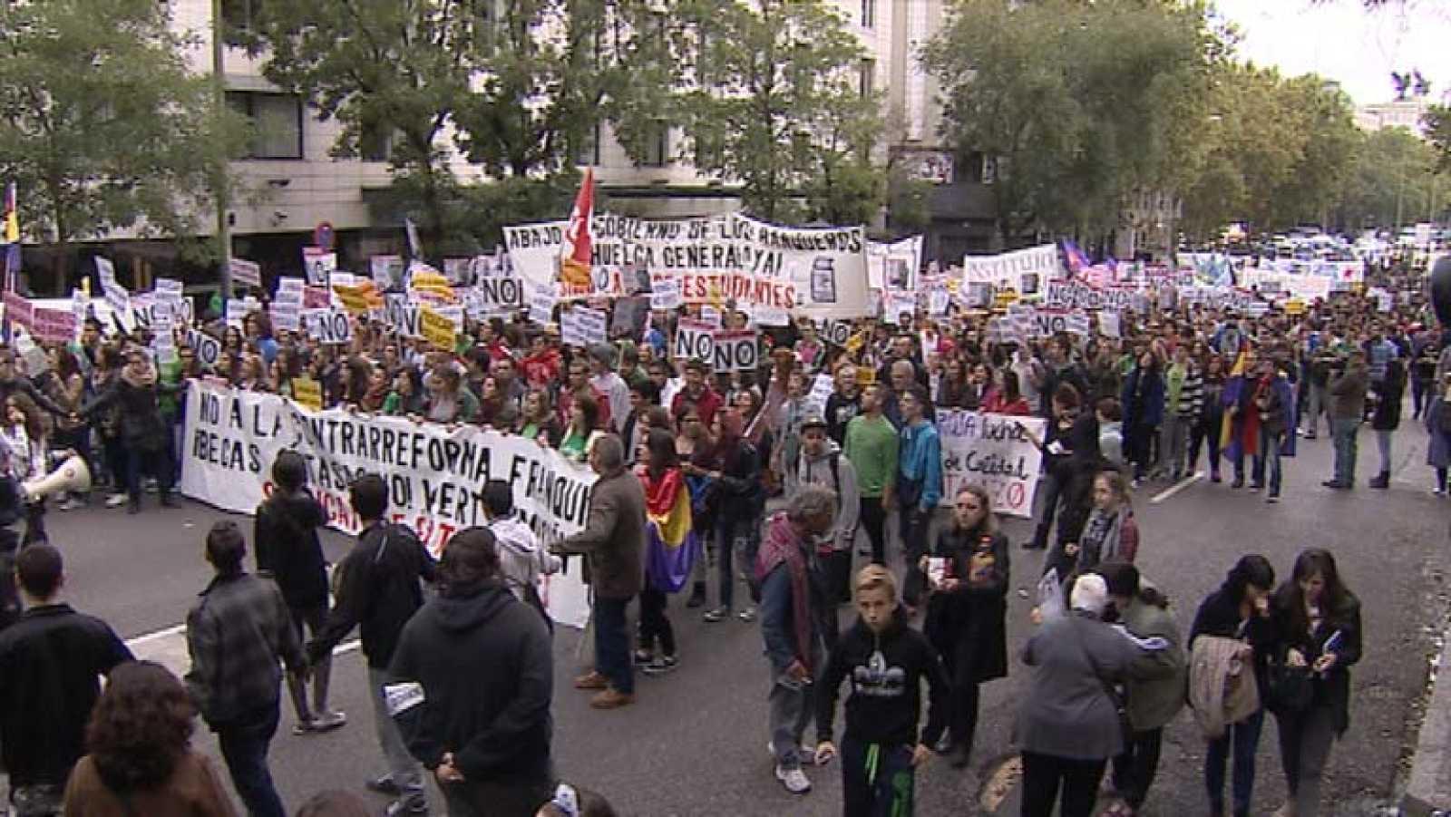 Segunda jornada de huelga de las tres convocadas por el Sindicato de Estudiantes