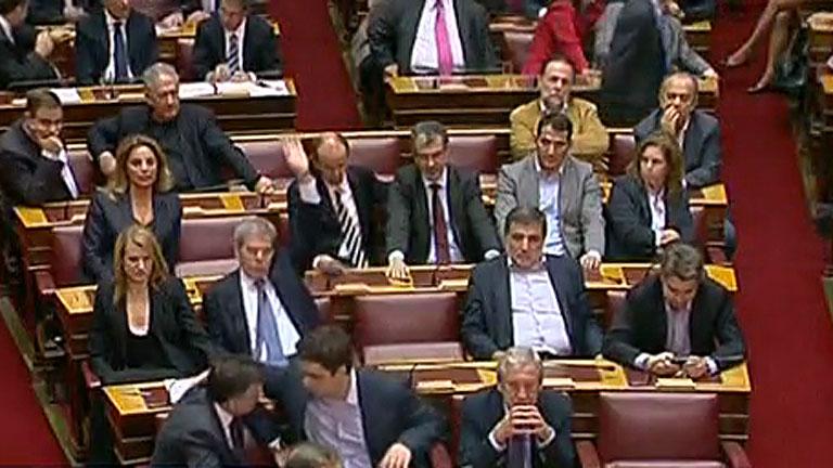 El Parlamento de Grecia deja sin subvención al partido neonazi Aurora Dorada  - RTVE.es