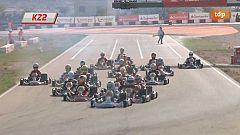 Karting - Campeonato de España. Prueba Motorland