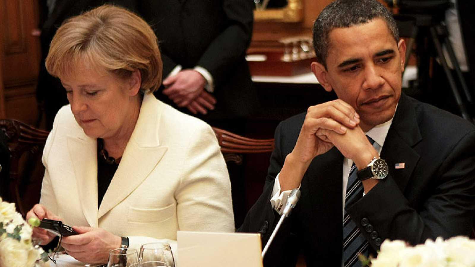 Obama sabía que espiaban a Merkel desde 2010 y pidió más informes de la canciller
