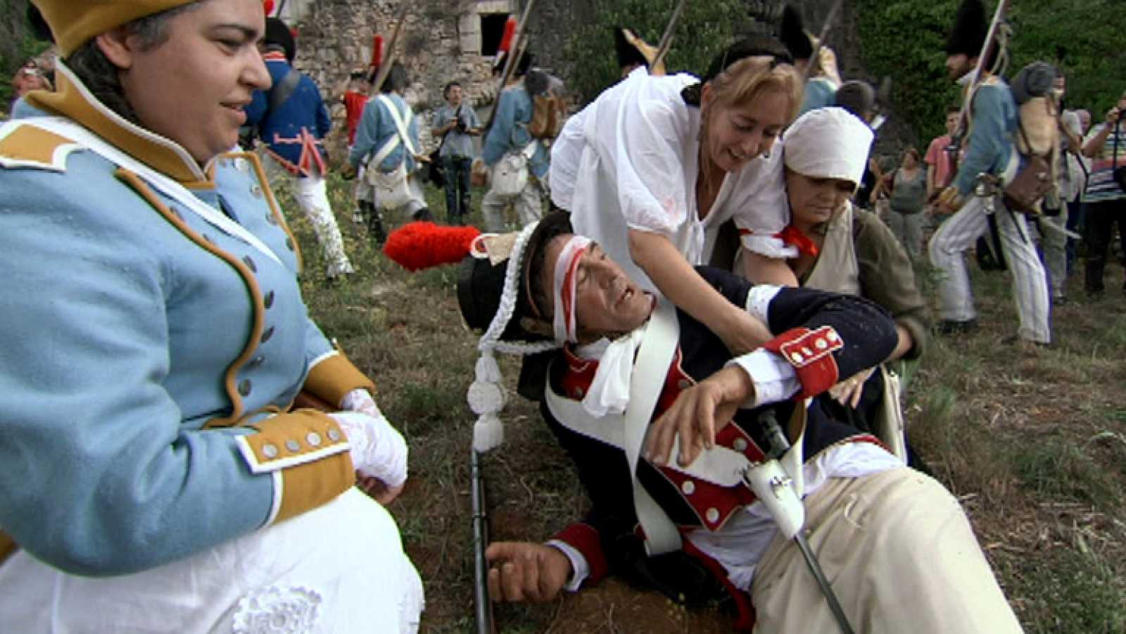 España a ras de cielo - Francis combate cuerpo a cuerpo en el campo de batalla