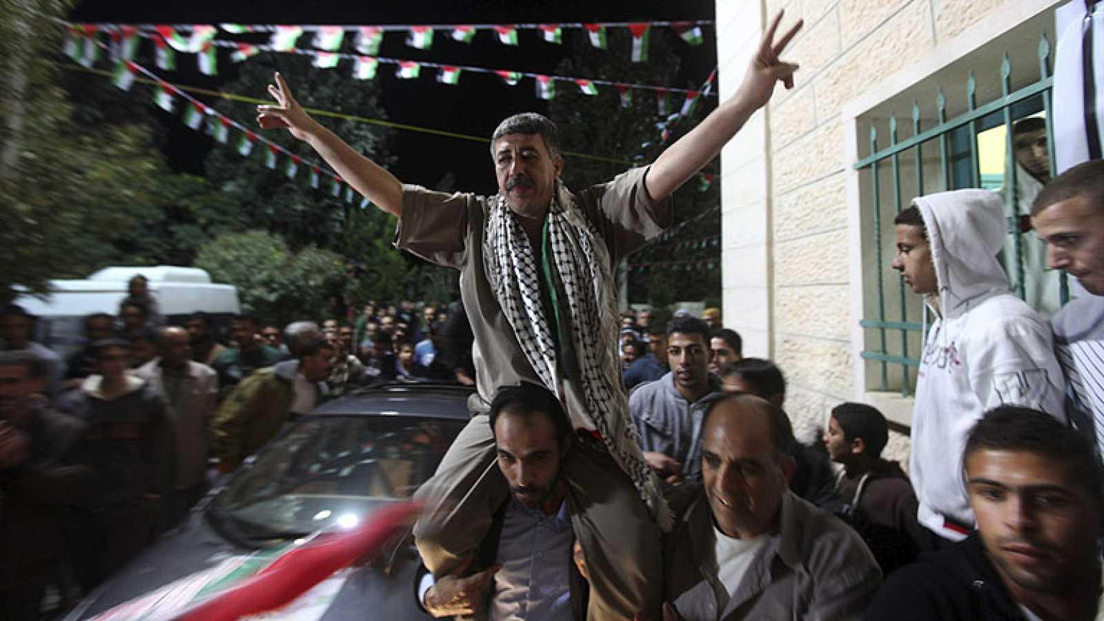 Israel libera a 26 presos palestinos dentro del reanudado proceso de paz