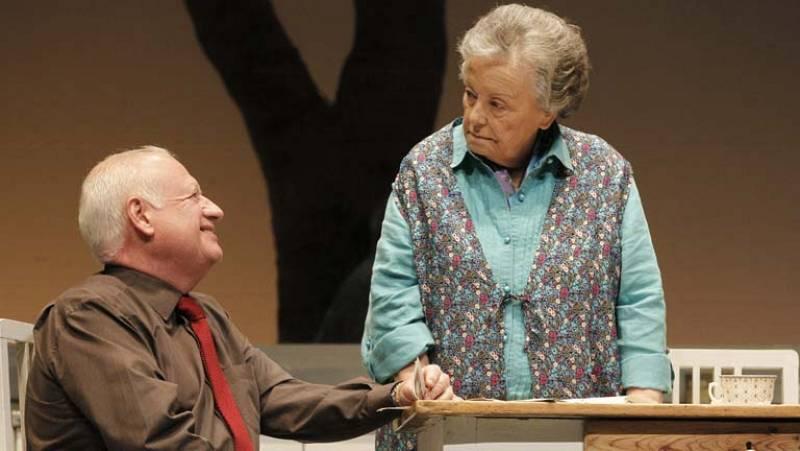 Juan Echanove y María Galiana comparten escenario en un teatro de Madrid