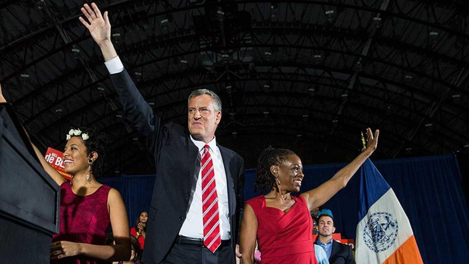 De Blasio, primer alcalde demócrata de Nueva York en veinte años