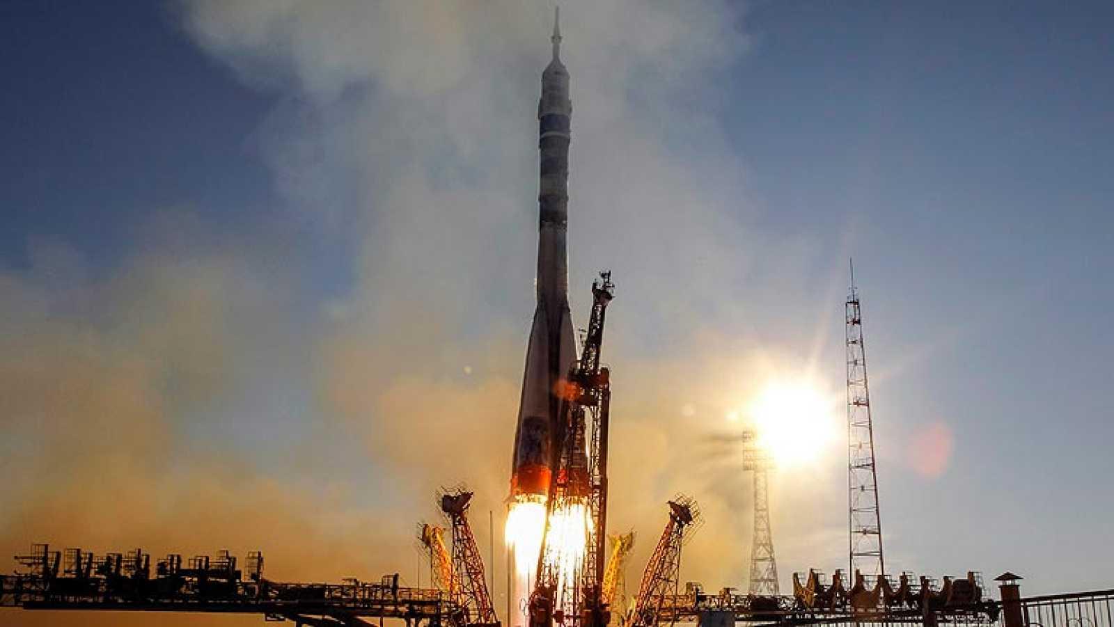 La llama olímpica pone rumbo a la Estación Espacial Internacional