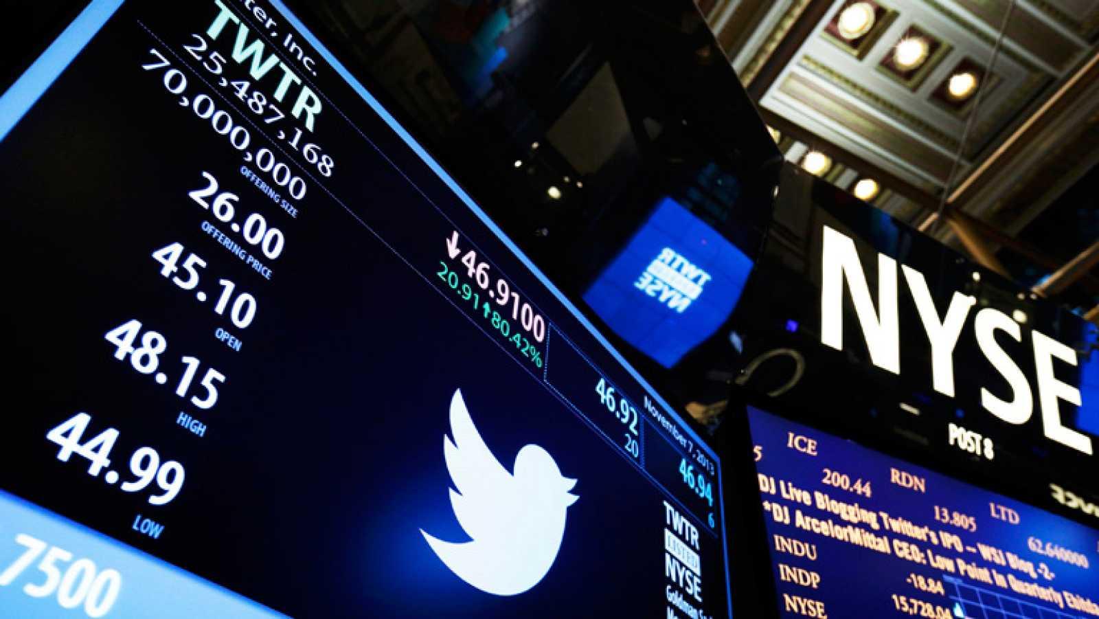 Las acciones de Twitter debutan en la Bolsa de Nueva York