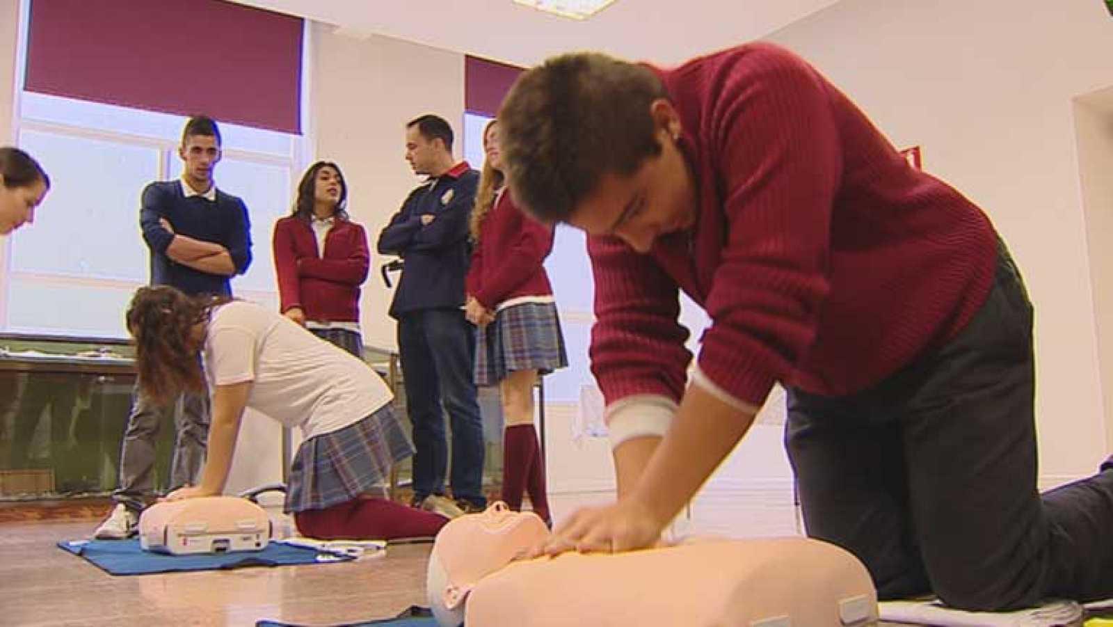 Aprender primeros auxilios en la Semana de la Ciencia en Madrid