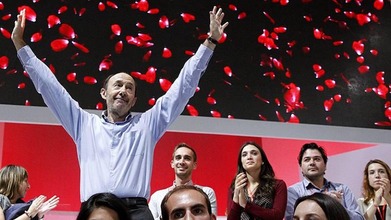 """Rubalcaba asegura que el PSOE """"ha vuelto"""""""