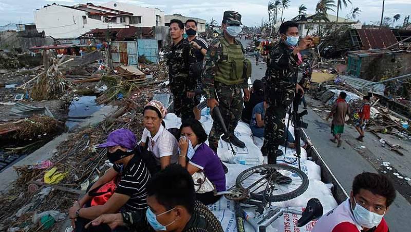 Ningún español entre los 10.000 fallecidos por el tifón Haiyan en Filipinas
