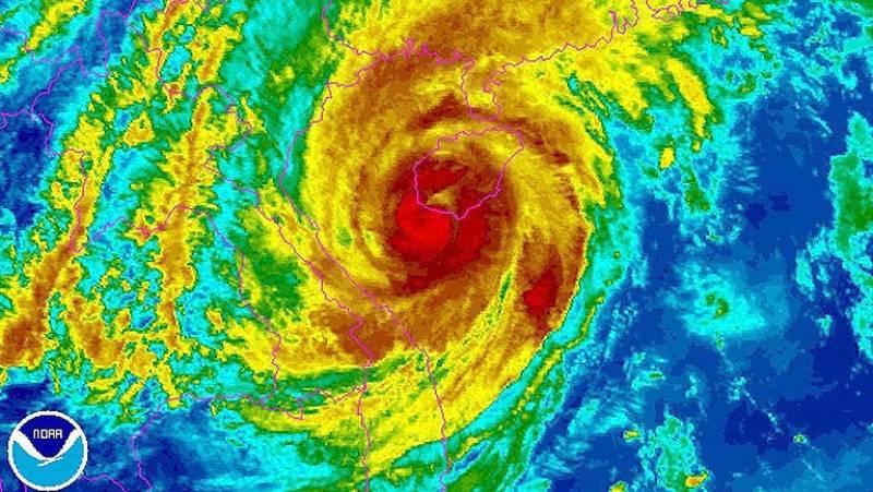El tifón Haiyan o Yolanda se convierte en tormenta tropical