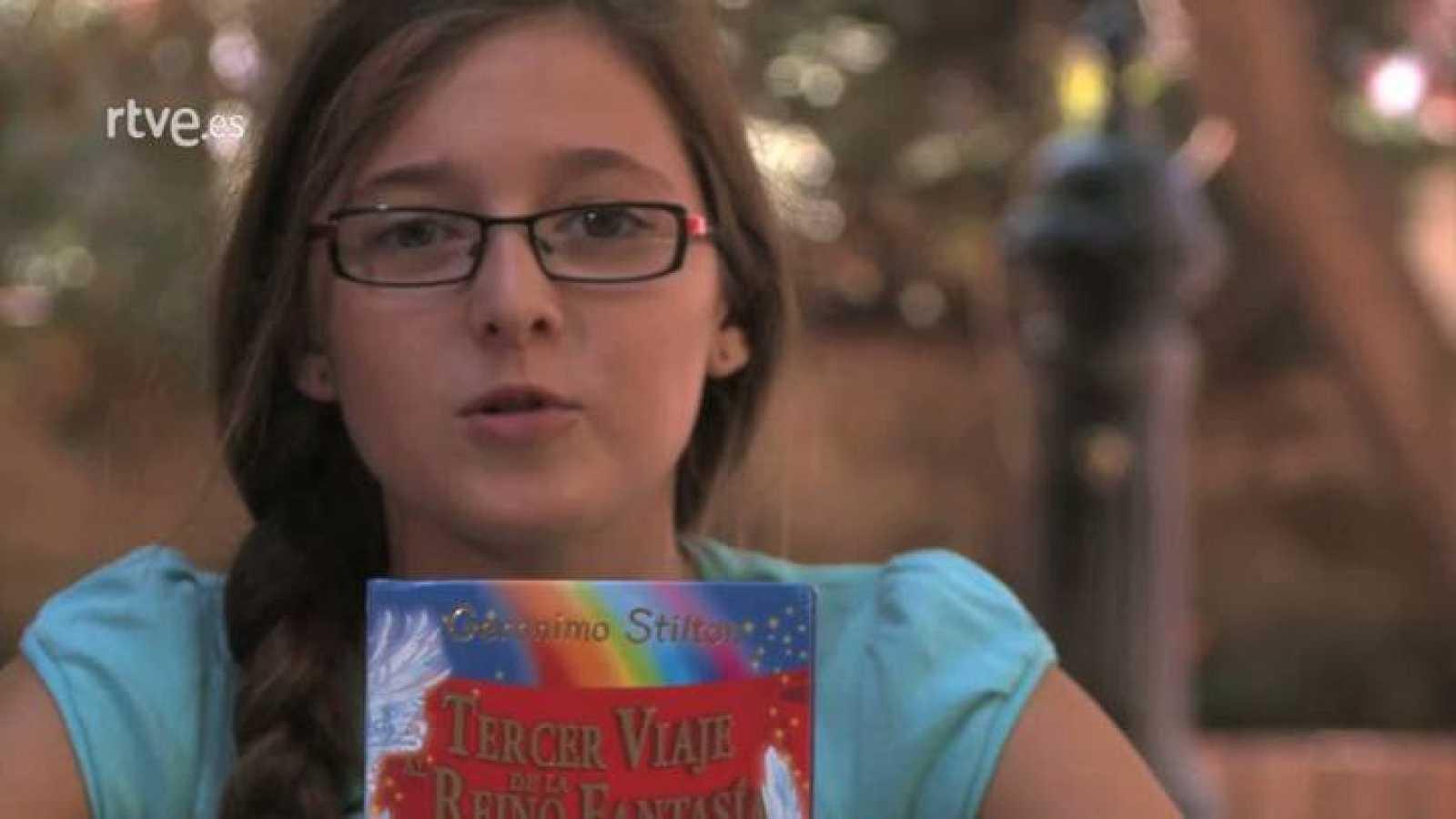 """Página 2 - Miniclub de lectura -  """"Geronimo Stilton: El tercer viaje al Reino de la Fantasía"""" , con Lola Guinovart"""