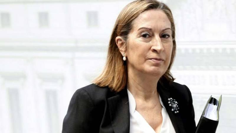 Ana Pastor dice que se está trebajando para que la respuesta sea óptima en catástrofes como la del Prestige