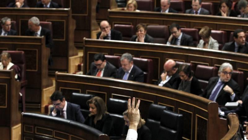 Los Presupuestos pasan su trámite en el Pleno del Congreso, que aprueba solo una enmienda