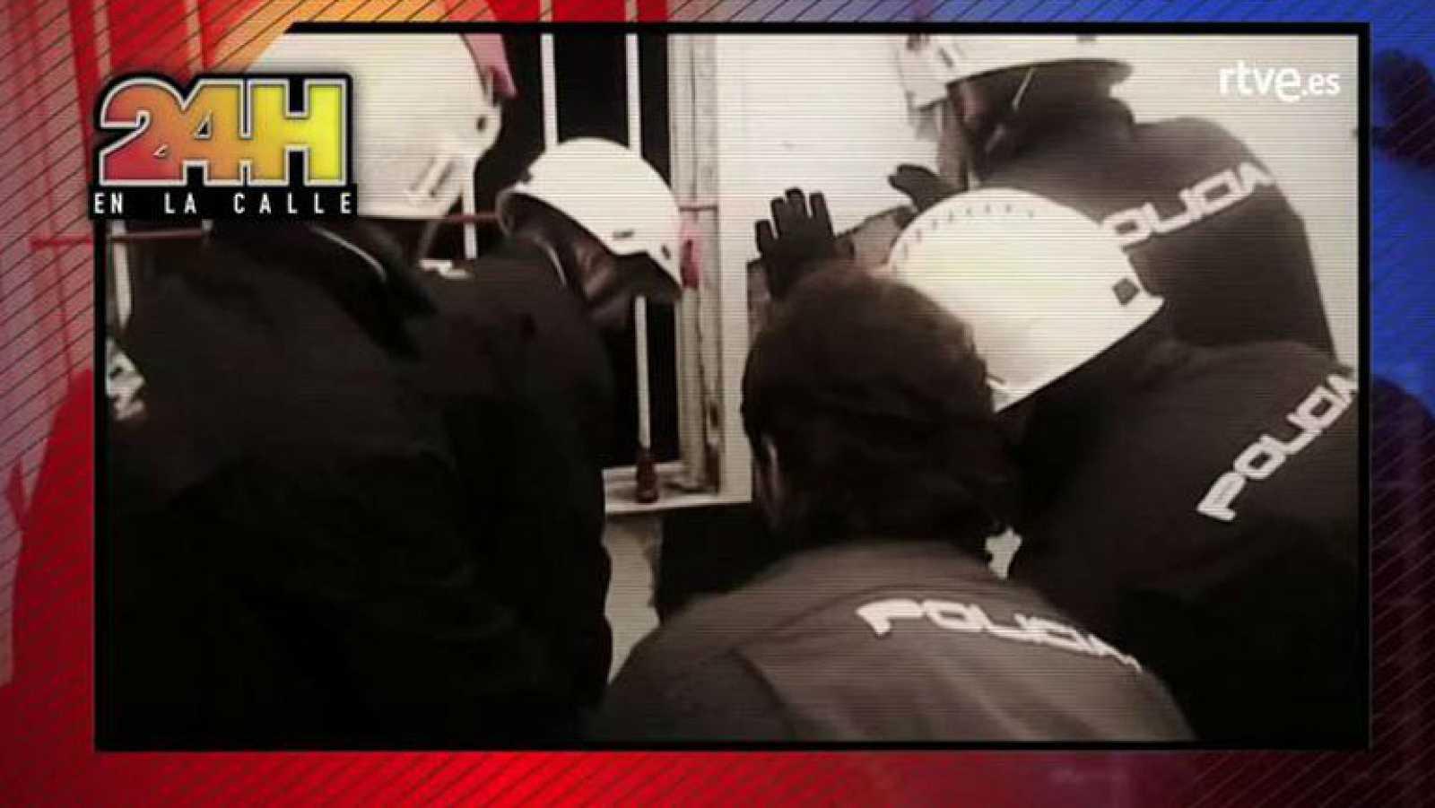 '24 horas en la calle' presencia en La 1 el asalto de uno de los principales clanes de la droga