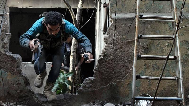La oposición armada siria, cada vez más dividida