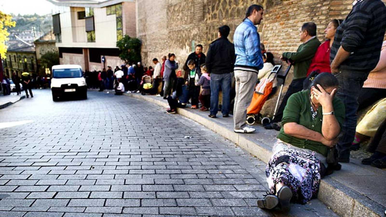 El 21,6% de los españoles vive por debajo del umbral de la pobreza en 2013