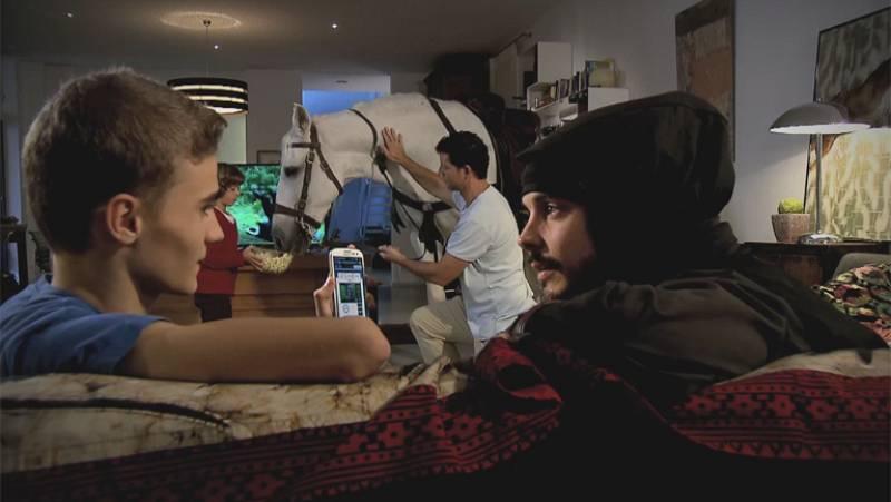Más TVE - Promo con David Janer, el 'Águila Roja'