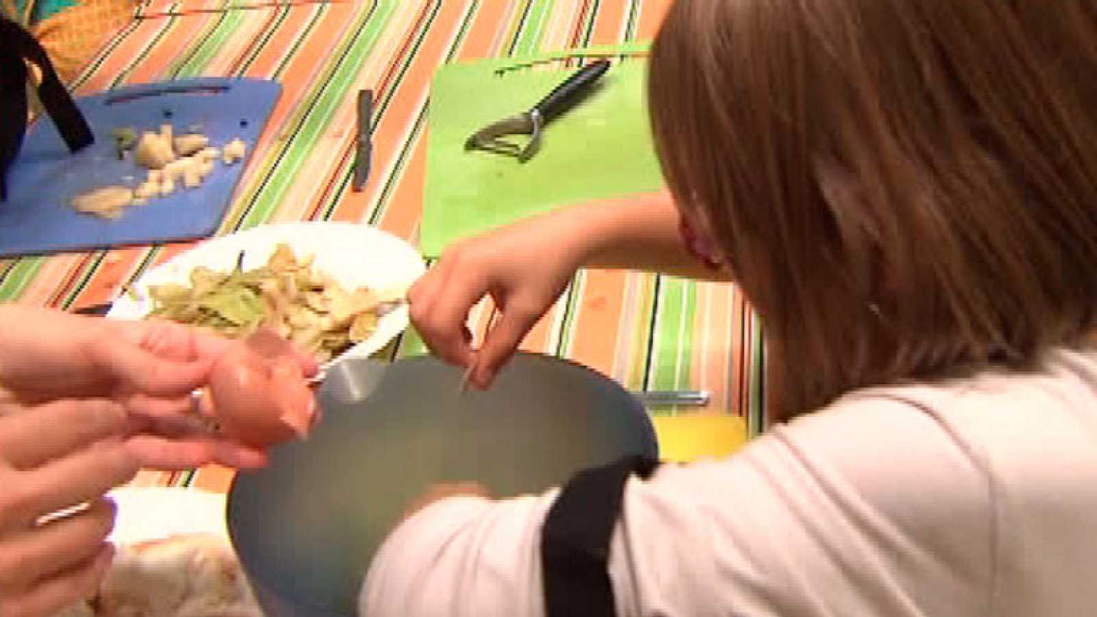 España Directo- Los peques de la casa aprenden a reciclar la comida