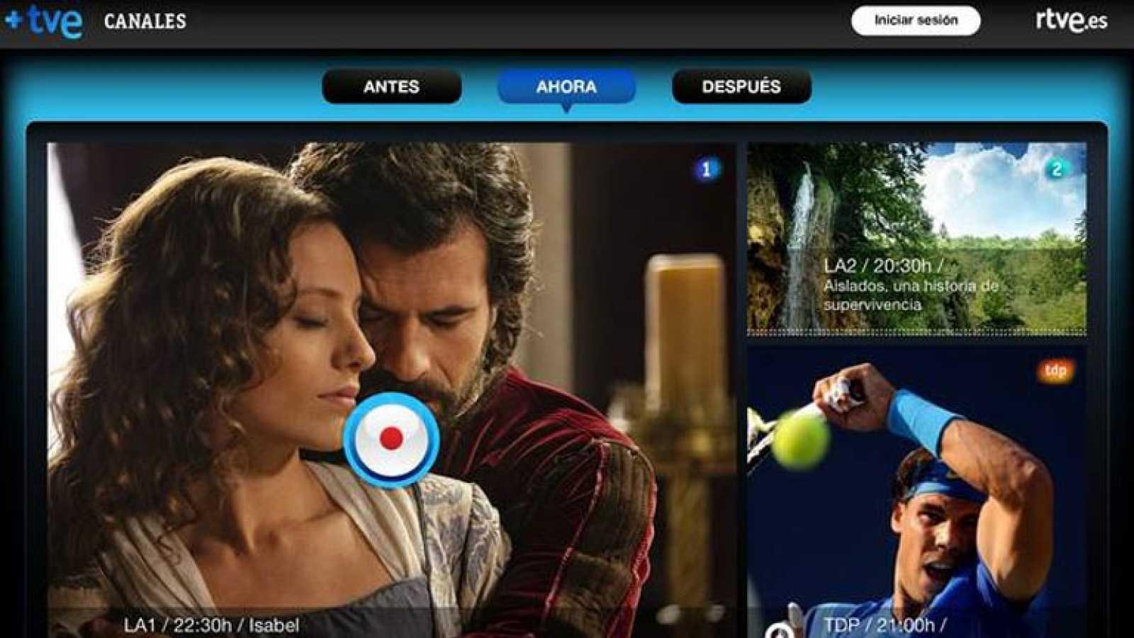 RTVE lanza '+TVE', una aplicación para compartir y comentar las emisiones en tiempo real