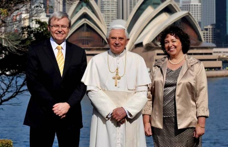 El Papa, que se encuentra de visita en Sidney, presidirá hoy la Jornada Mundial de la Juventud.