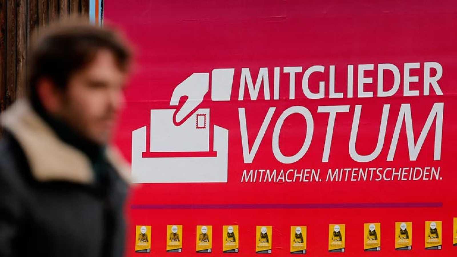 División de opiniones sobre el acuerdo de coalición en Alemania, mientras los socialdemócratas se preparan para votarlo