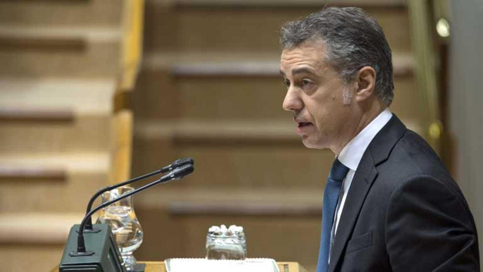 Urkullu exige a Rajoy que rectifique las palabras del ministro del Interior