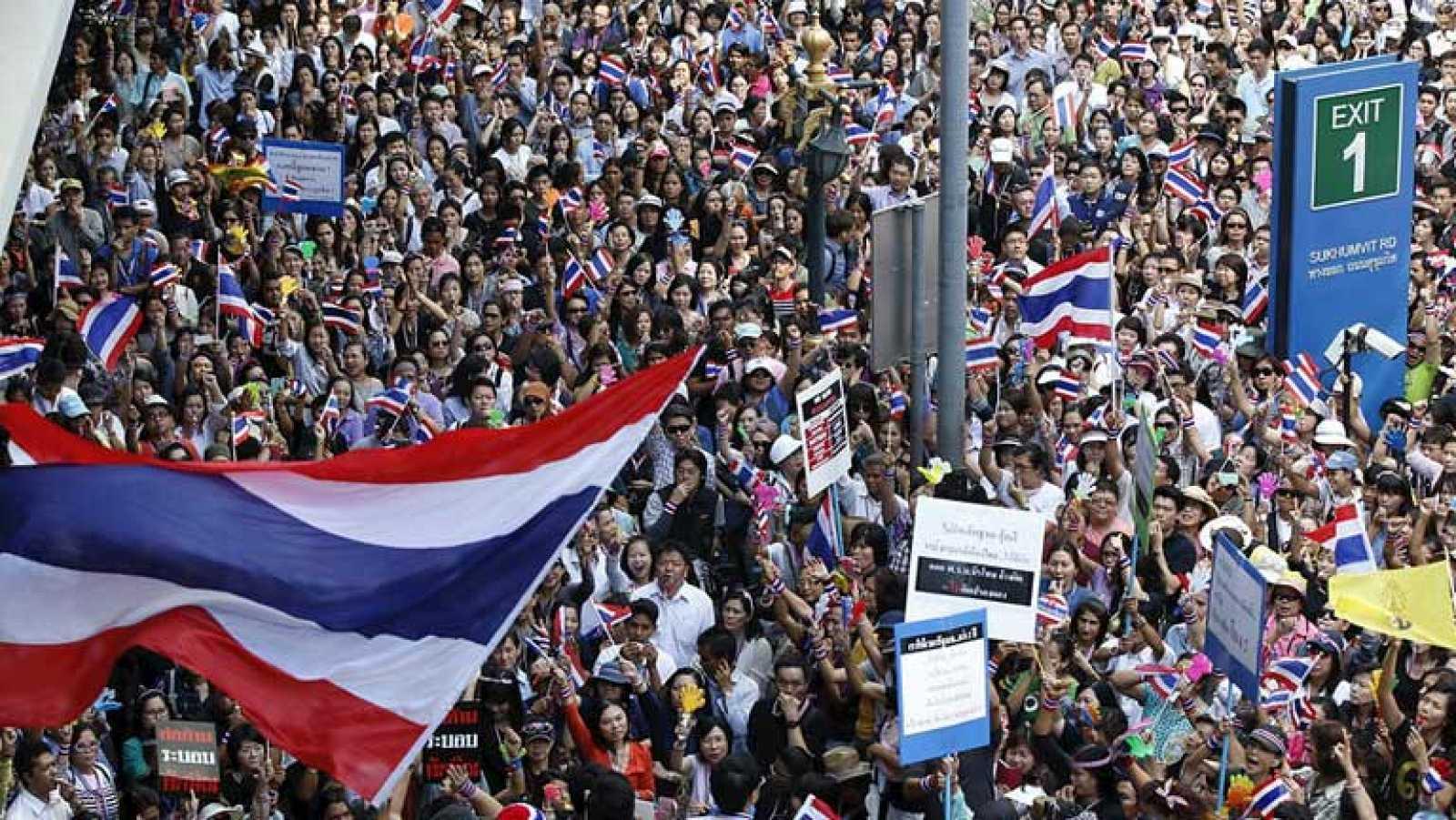 En Tailandia se intensifican las protestas contra el gobierno