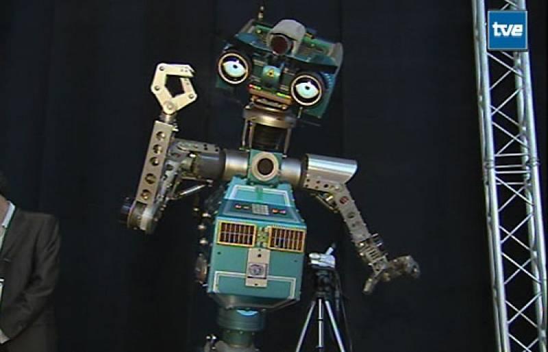 Securitrón, estrella de la Campus Party (2005)