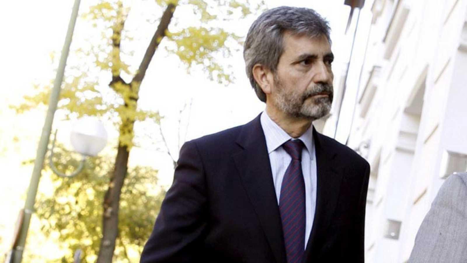 Carlos Lesmes es el nuevo presidente del Tribunal Supremo y del Consejo General del Poder Judicial