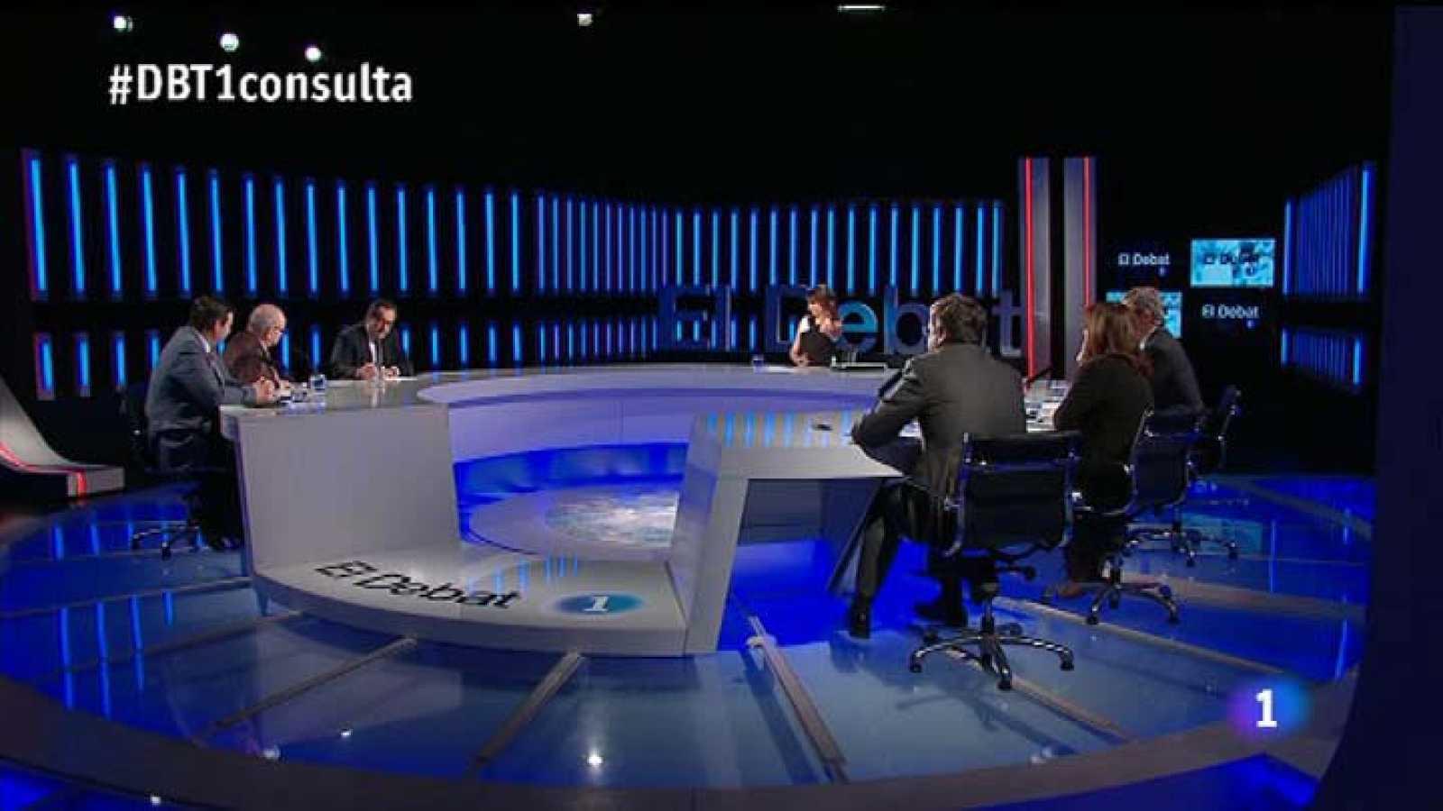 """El Debat de la 1 - Debat : La consulta i la polèmica pel simposi """"Espanya contra Catalunya"""""""