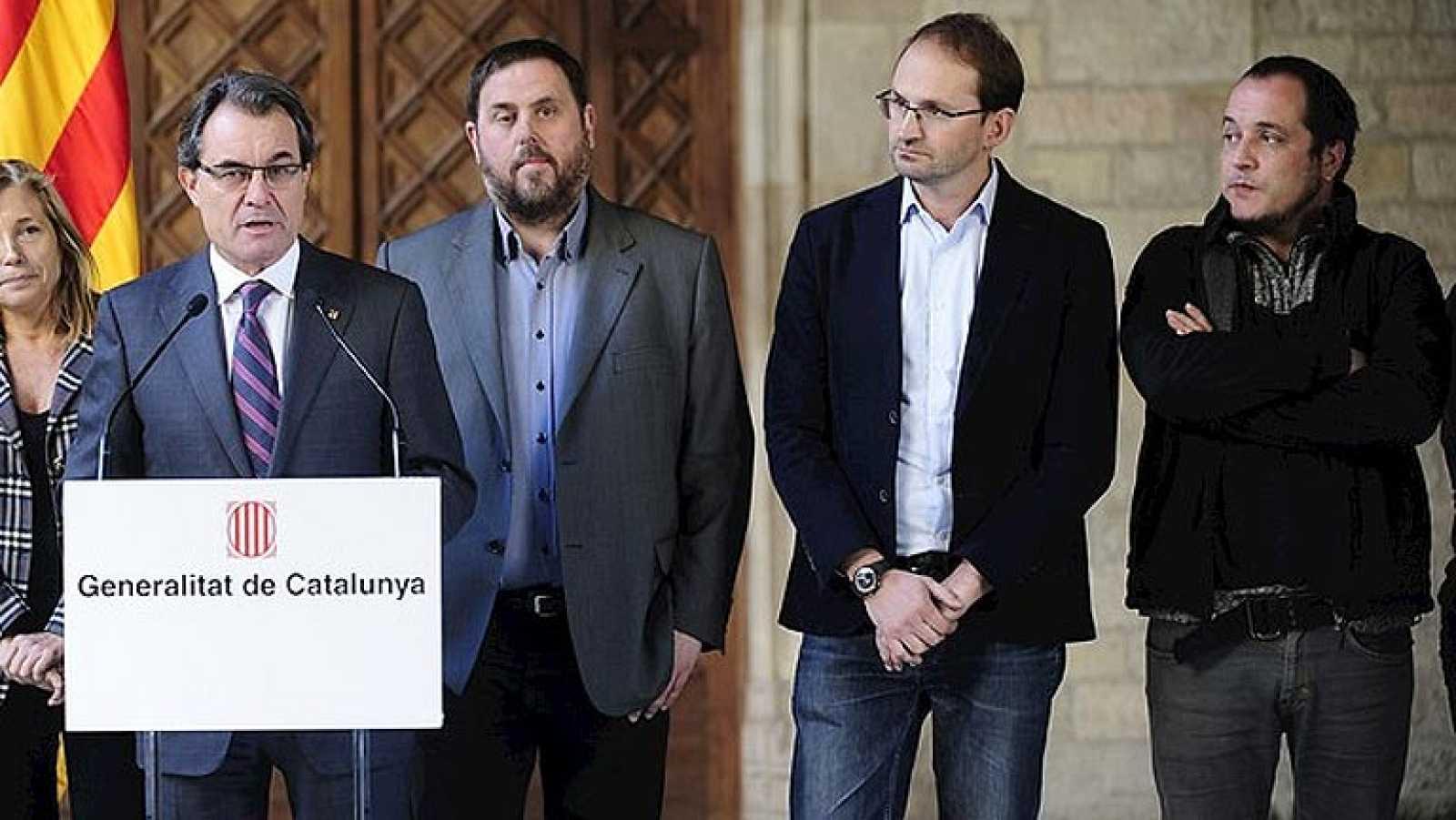 Ya hay pregunta para la hipotética consulta soberanista en Cataluña