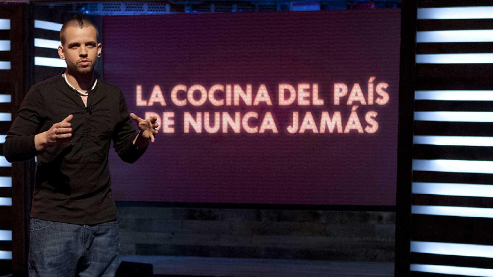 """Masterclass: """"La cocina del País de las Nunca Jamás"""", por David Muñoz - Ver ahora"""