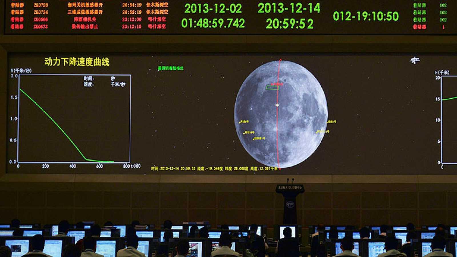 La nave china Chang E3 logra el primer alunizaje controlado en 37 años