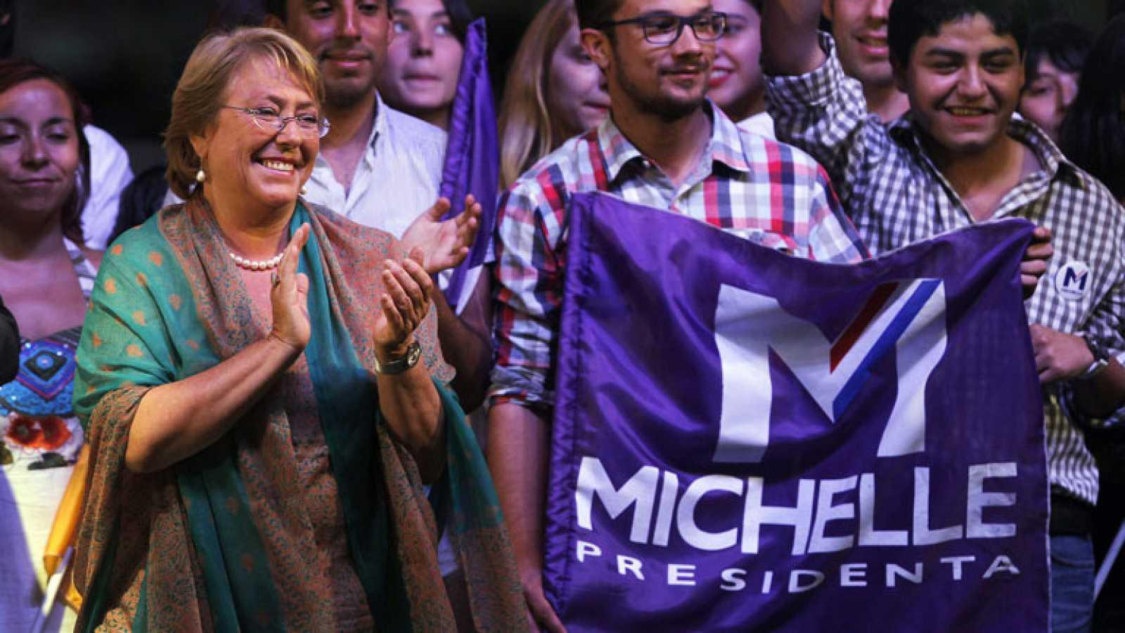 Bachelet asegura que es el momento de iniciar cambios de fondo en Chile