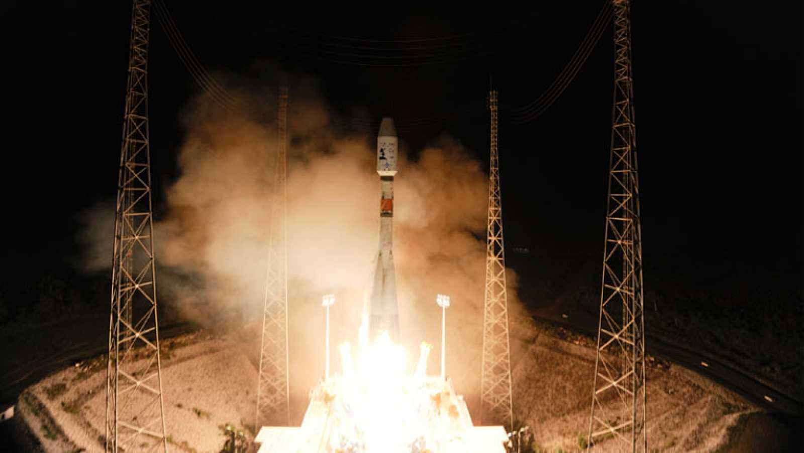 El satélite Gaia despega con éxito a bordo de la nave Soyuz
