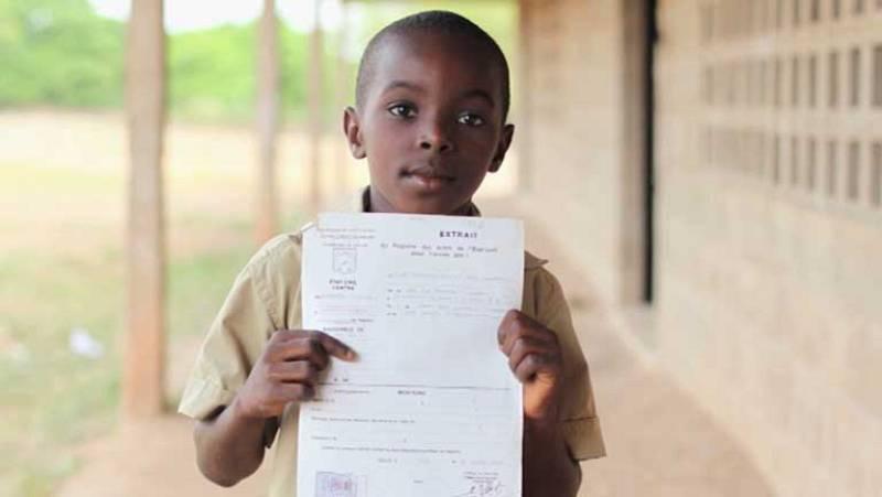 Cerca de 230 millones de niños menores de cinco años nunca han sido registrados