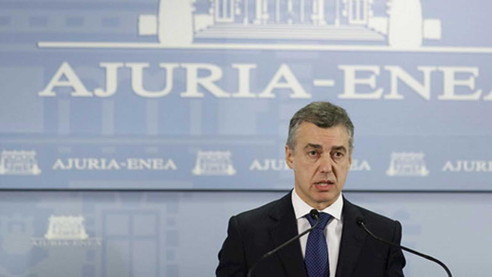 "Urkullu califica como ""ávance"" el comunicado de ETA"