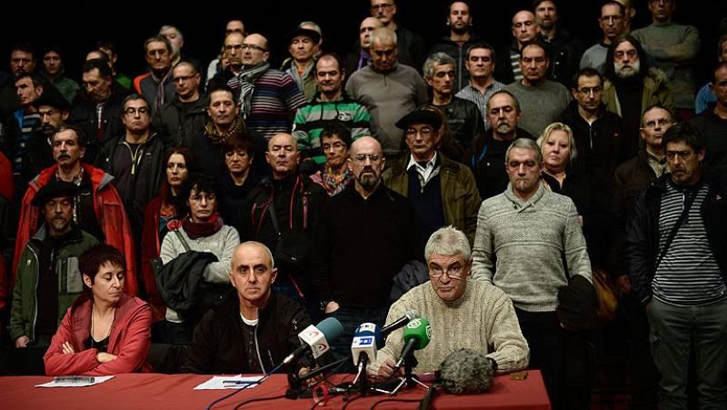 """Los excarcelados de ETA piden en Durango """"el derecho a decidir"""" para solucionar el conflicto"""
