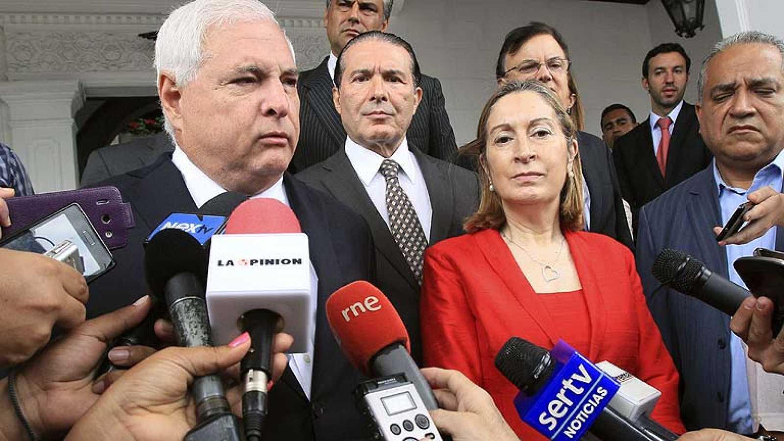 Pastor anuncia un primer acuerdo para encauzar el conflicto entre Sacyr y Panamá
