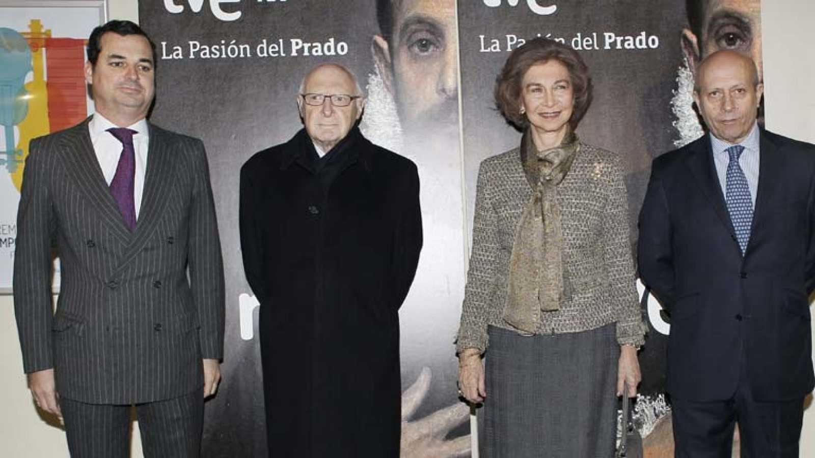 La Reina preside la presentación del documental, realizado por TVE en 4K
