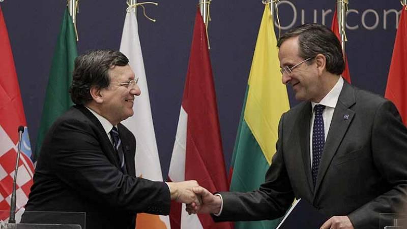 Grecia asume la presidencia de la UE con un recado de Barroso para cumplir con las reformas