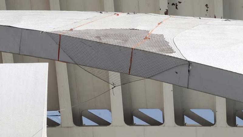 Los trabajos para retirar las piezas que cubren el Palau de les Arts están a punto de empezar