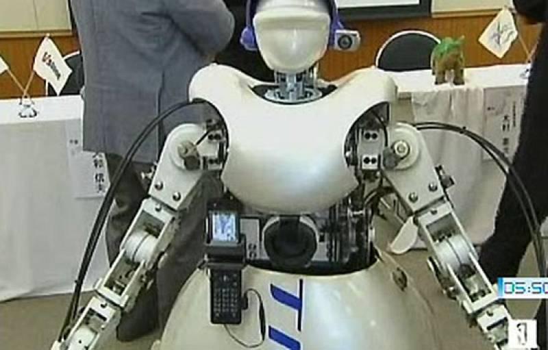 Los japoneses, locos por los robots