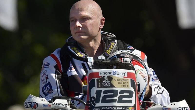 Encuentran muerto en el Dakar al motorista belga Eric Palante
