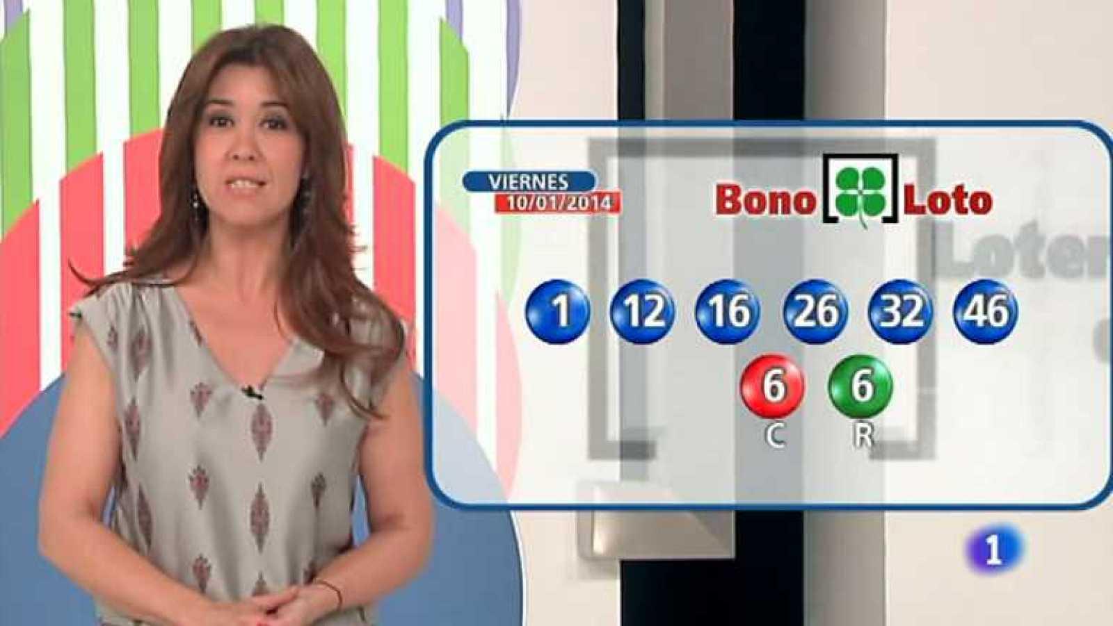 Bonoloto + Euromillones - 10/01/14 - Ver ahora