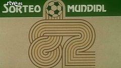 Sorteo de la fase final del Mundial de fútbol España'82