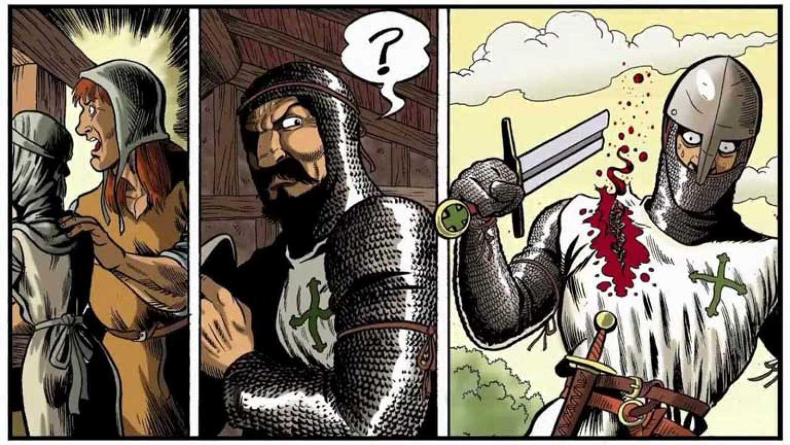 Tráiler del cómic 'Cruz Negra: La Frontera'