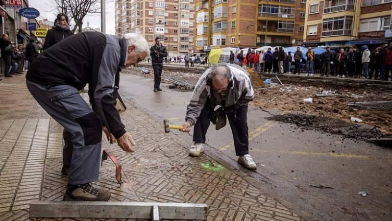 El pleno del Ayuntamiento rechaza paralizar definitivamente las obras de Gamonal