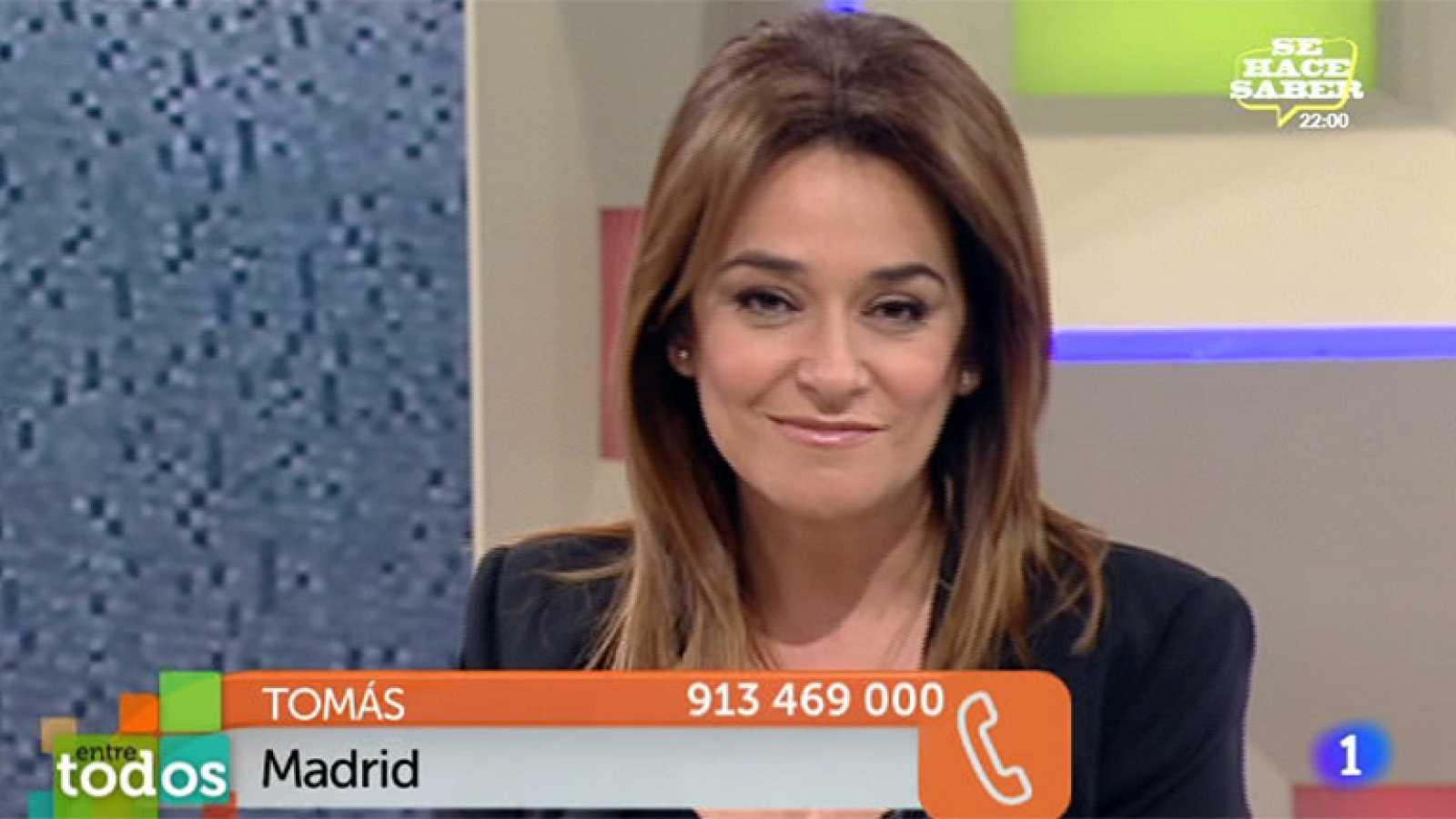 Entre Todos - El periodista deportivo Tomás Roncero ayuda con 1.000 euros